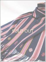 【SALE40%オフ】メキシコ手織りコットンマフラー*パンテロー/AB*