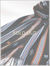 【SALE40%オフ】メキシコ手織りコットンマフラー*パンテロー/CDE*